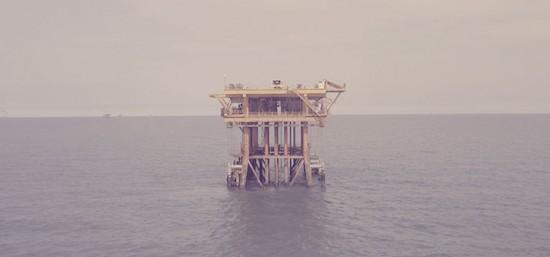 Pararrayos plataformas petroliferas mar baltico