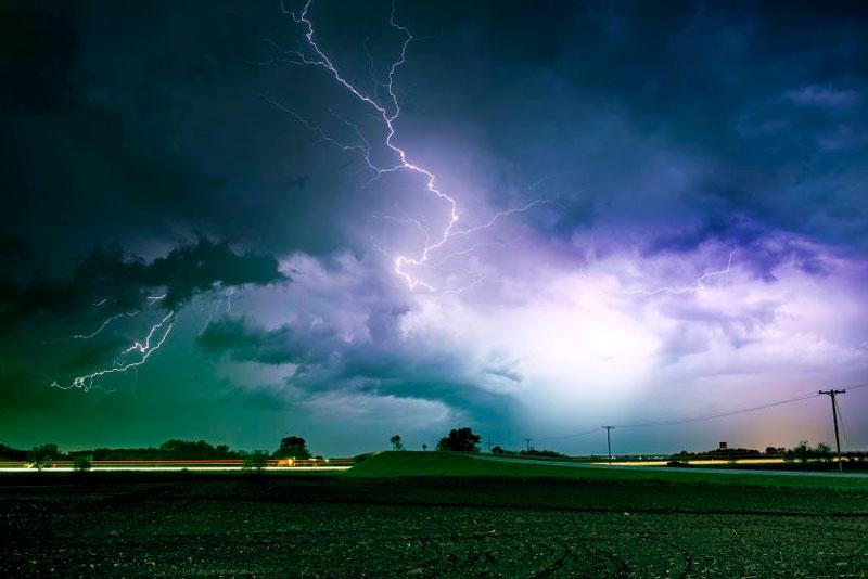 evaluación del riesgo del impacto de rayos